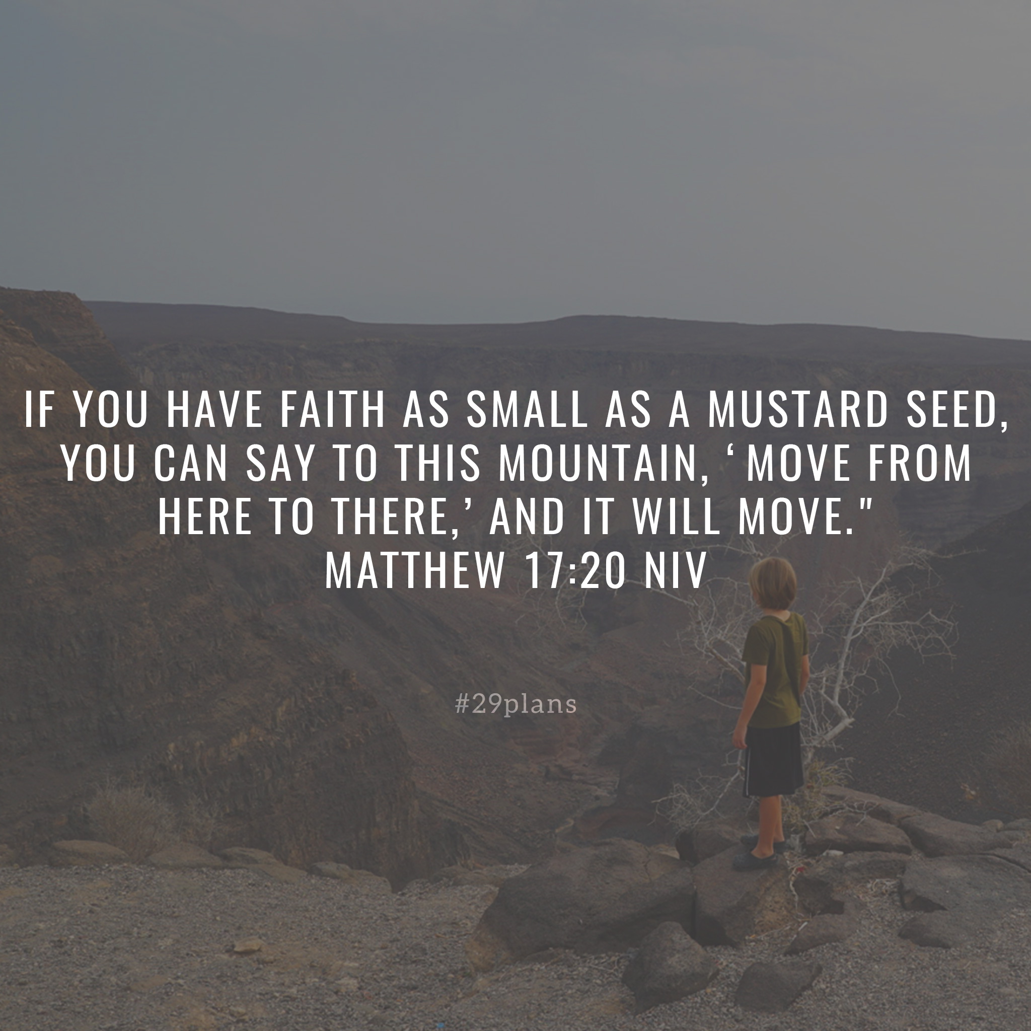 Today's Guide — 01.29.18 — Abraham Tested and Faith to Move Mountains