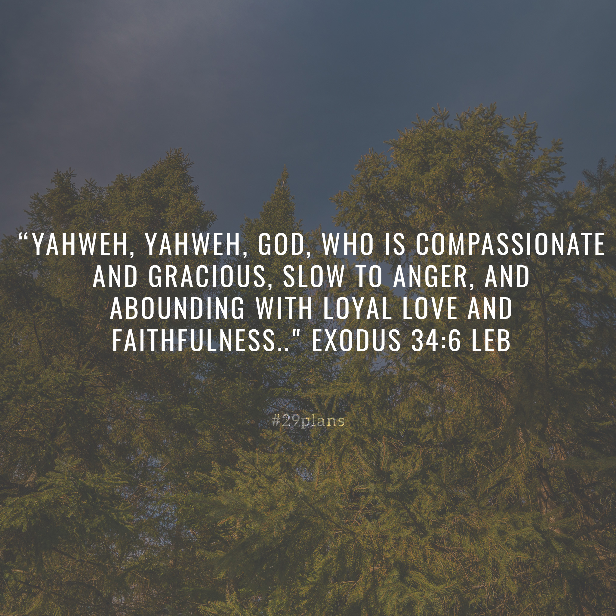 Today's Guide — 03.30.18 — Yahweh